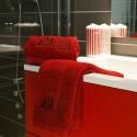 Serviette de toilette bonhomme de neige 50x100cm