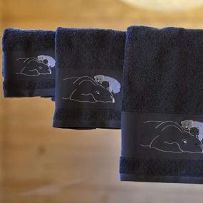 Towel with a polar bear 50x100 cm