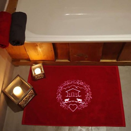 Tapis de bain Coeur
