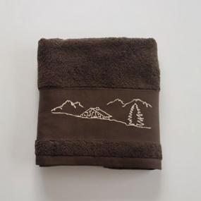 Towel with Alpine Motif 50x100