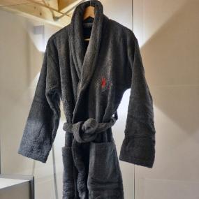Peignoir Cerf gris