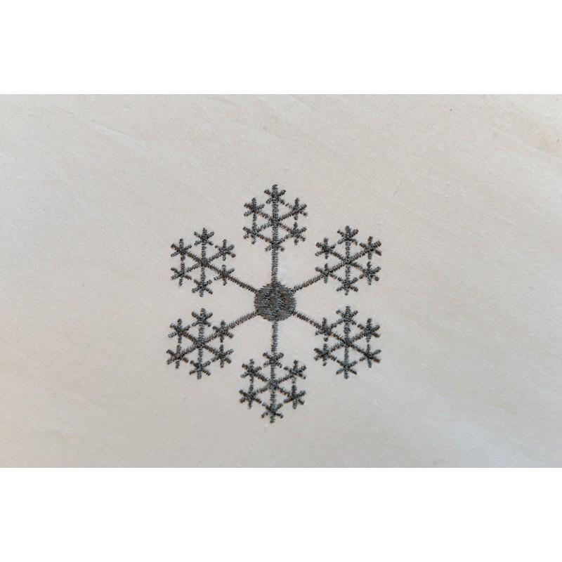 Housse de couette flocon de neige - Housse de couette scandinave ...