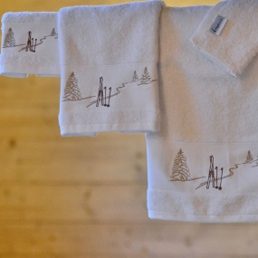 Guest Towels Ski Trace 30x50cm (Pack of 3)