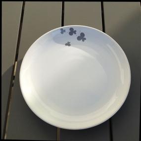 Assiette plate Papillon (Pack de 6)