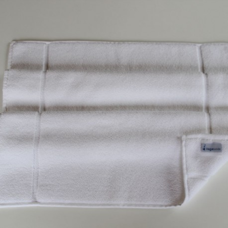 Tapis de bain Uni  Blanc 50x80cm