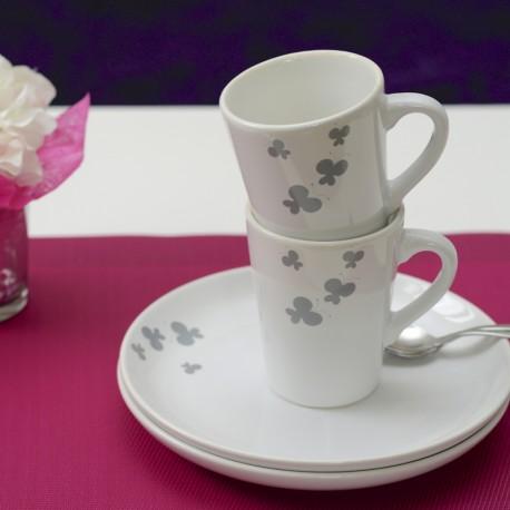Mug Papillon (Pack de 6)