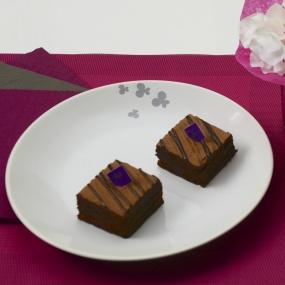 Assiette plate Papillon