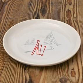 Assiette Ski (Pack de 6)