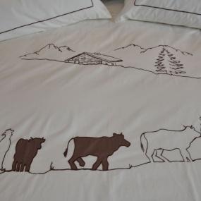 Housse de couette Montée à l'Alpage