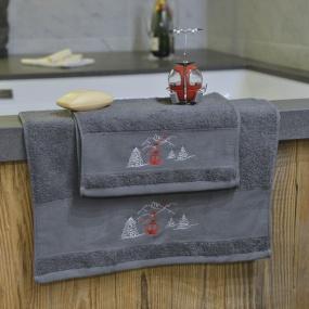 Serviette de toilette Télécabine