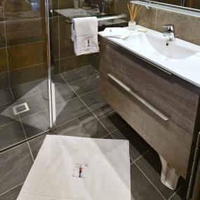 Tapis de bain Championne Blanc