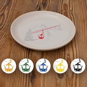 Dessert plates with Cable...