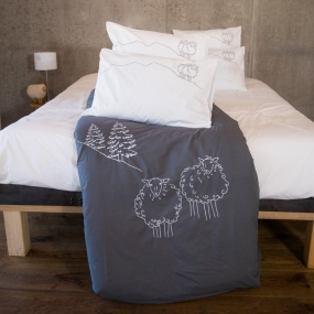 Grey Sheep duvet cover
