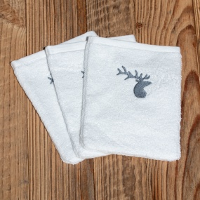 Washcloths with deer (pack...