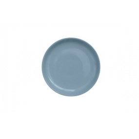 Assiette ronde à dessert bleu (Par 4)