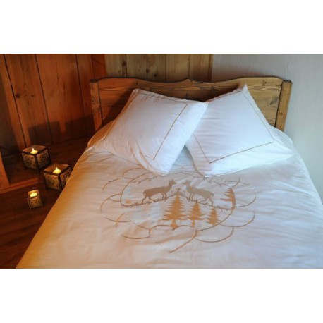 housse de couette chamois housse de couette montagne. Black Bedroom Furniture Sets. Home Design Ideas