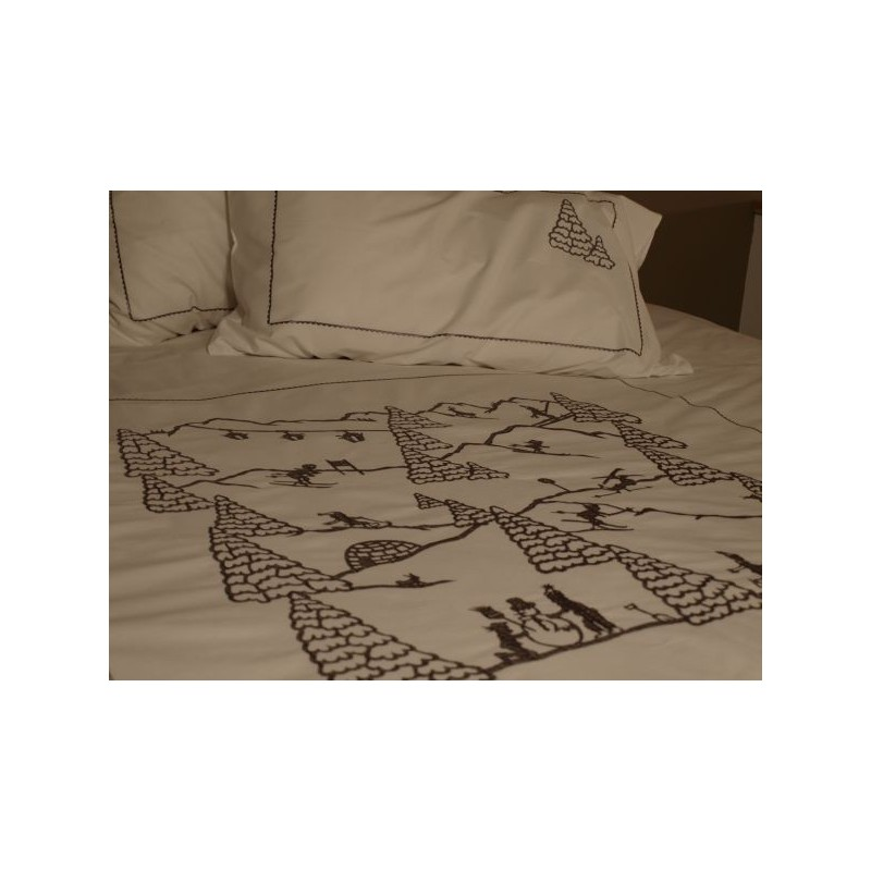 copripiumino sport invernali deco montagna. Black Bedroom Furniture Sets. Home Design Ideas