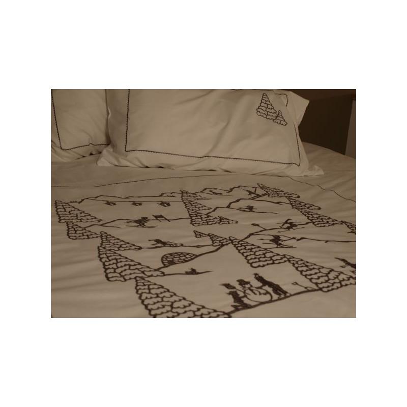 housse de couette sport d 39 hiver deco montagne. Black Bedroom Furniture Sets. Home Design Ideas
