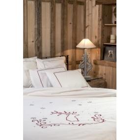 copripiumino cru cervo rosso deco montagna. Black Bedroom Furniture Sets. Home Design Ideas