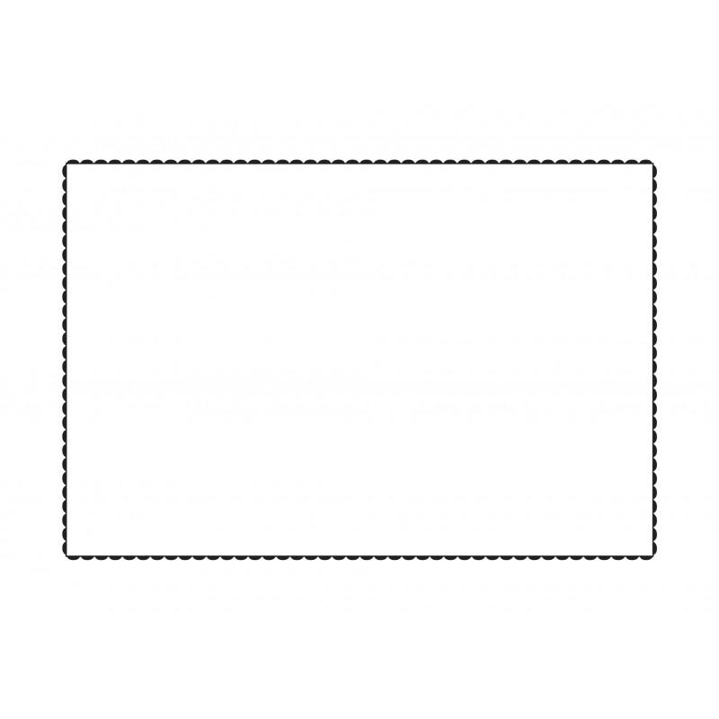 taie d 39 oreiller blanche brod e noir rectangulaire deco montagne vagabonde. Black Bedroom Furniture Sets. Home Design Ideas