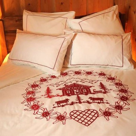 Duvet Cover Edelweiss and Chalet